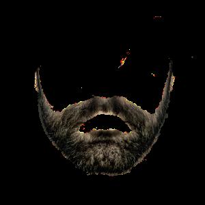 beard no background