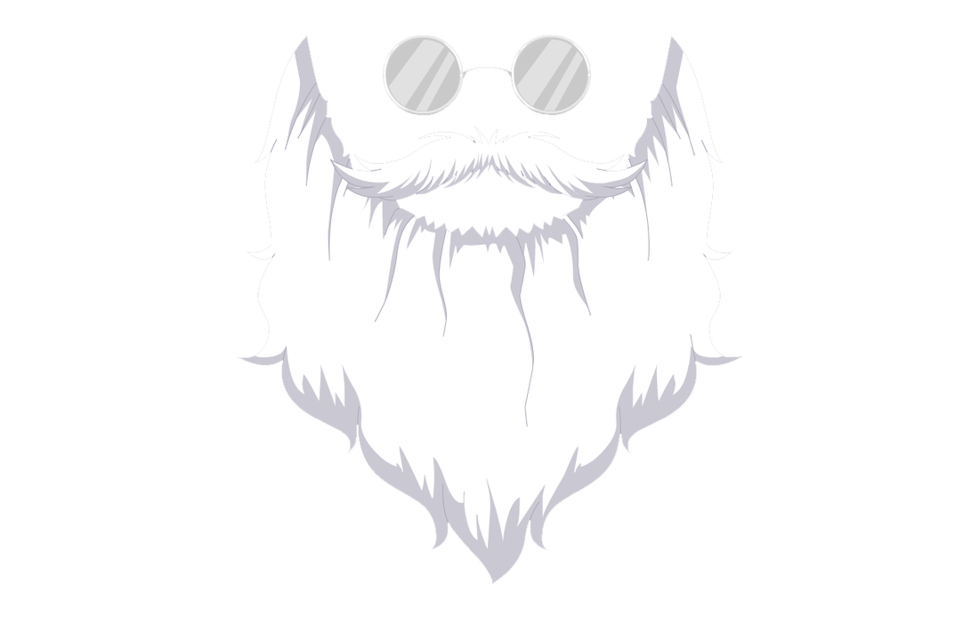 Beard Outline Png image #44584