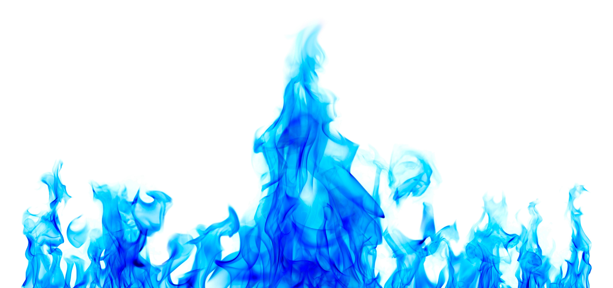 Beautiful Blue Fire Png image #43393