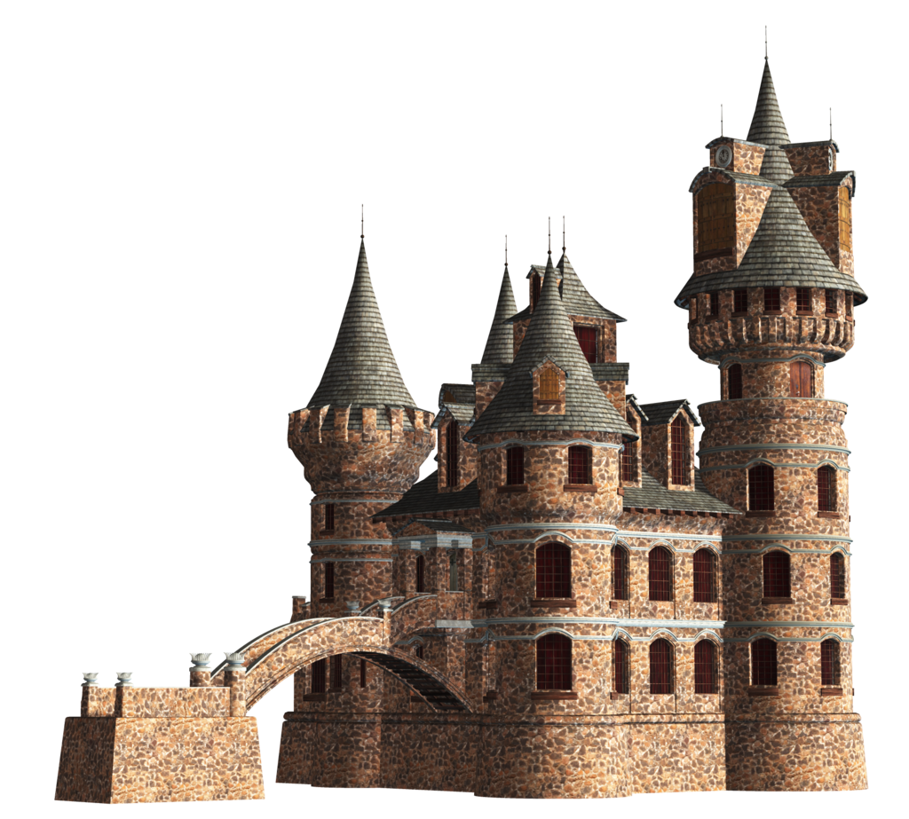 Beautiful Castle Png image #30632