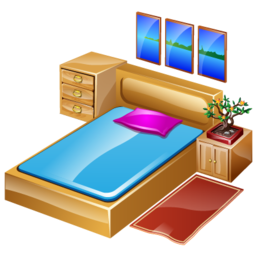 Svg Bedroom Icon image #11215