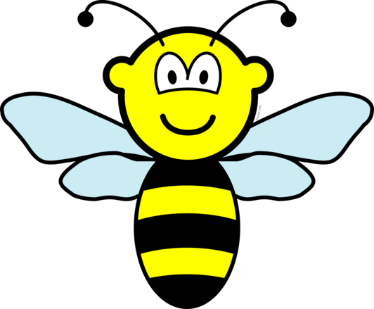 Bee Vector Png image #29434