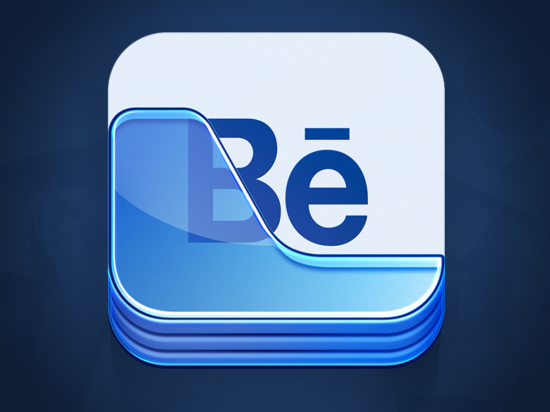 Behance Portfolio App Icon image #3176