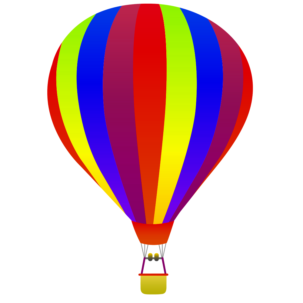 Best Air Balloon Drawing Png Clipart