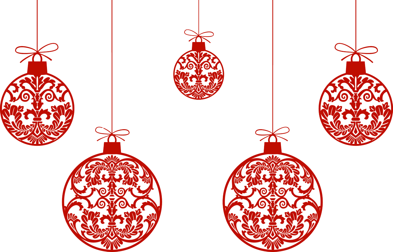 Best Christmas Ornaments Png Clipart image #46354