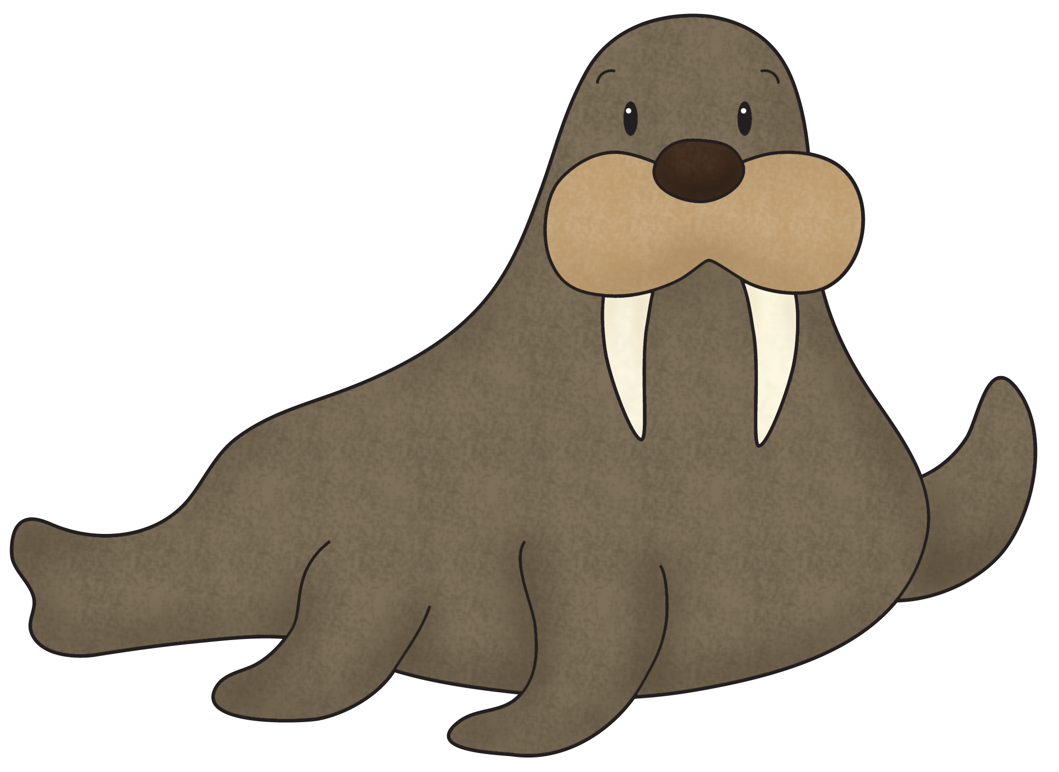 Best Walrus Png Clipart image #48638