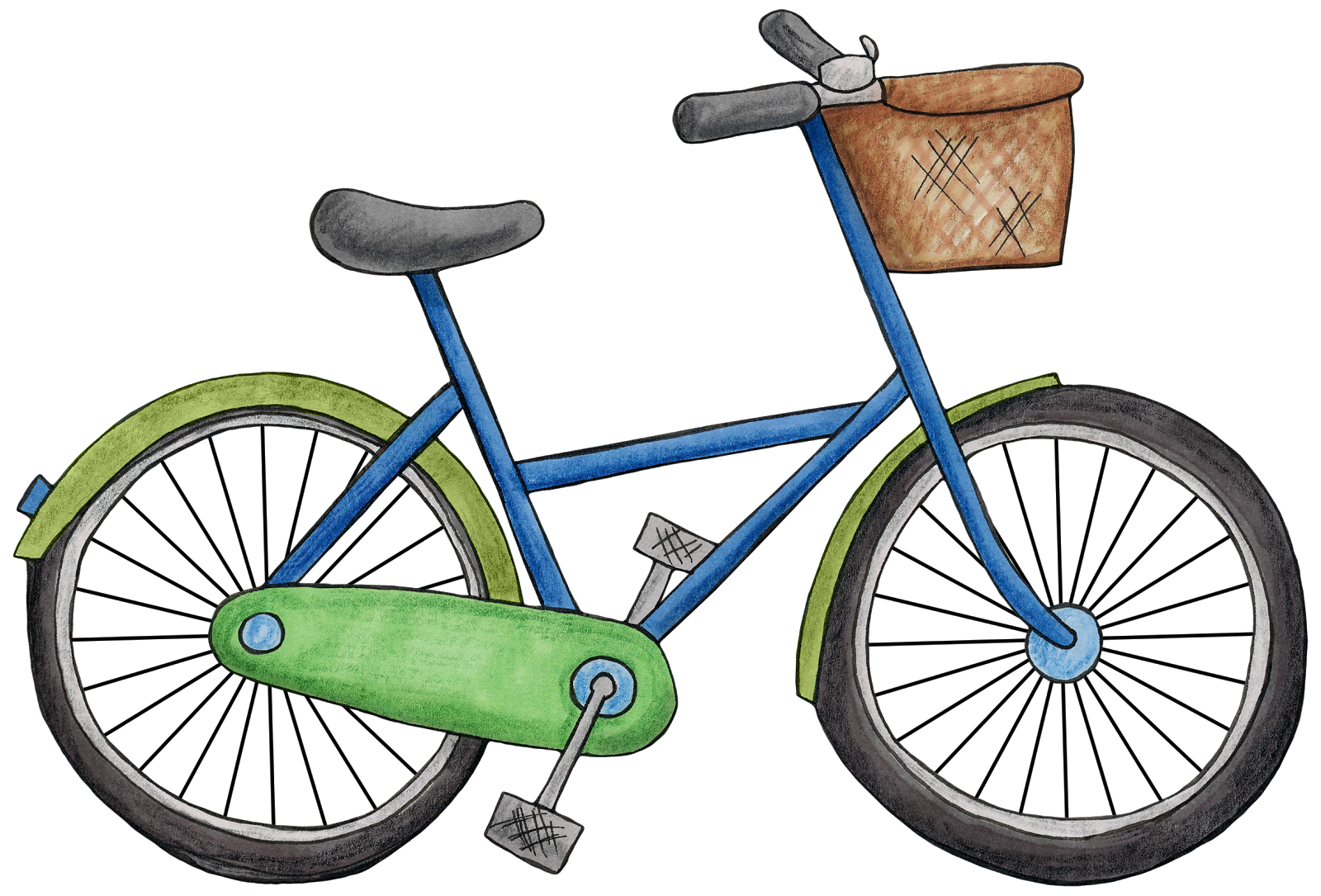 Bicycles, bike Clipart images free download pictures