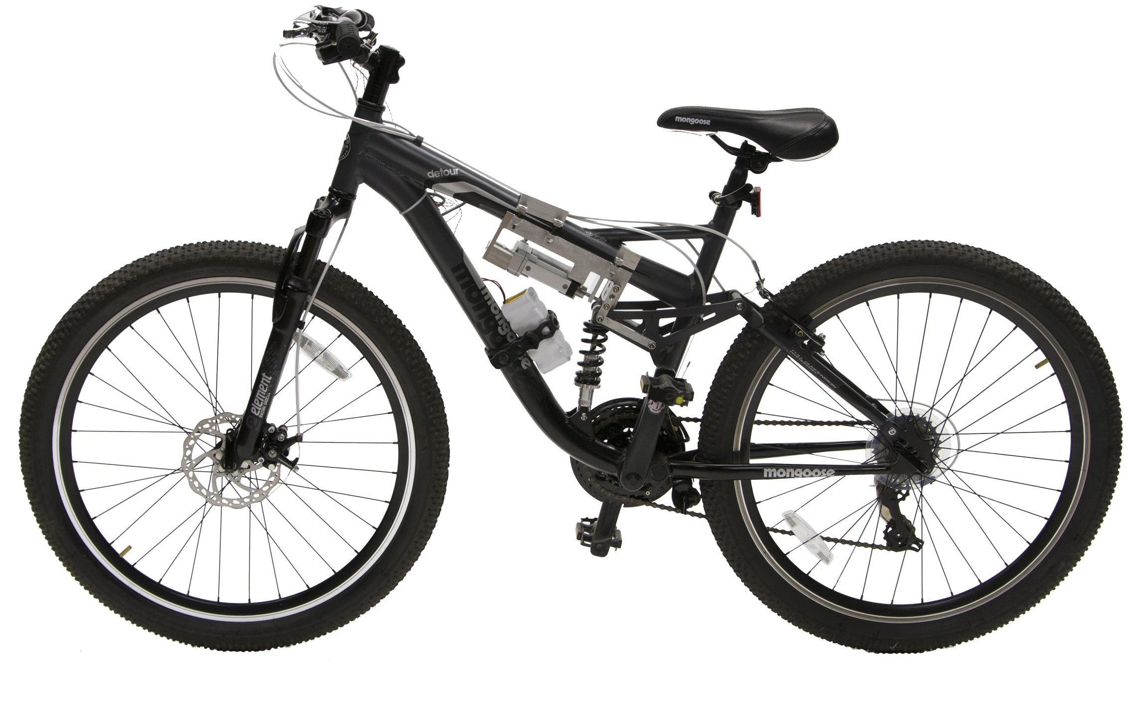 Bicycles Black PNG Download