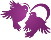 Bird Purple Save Icon Format image #6173