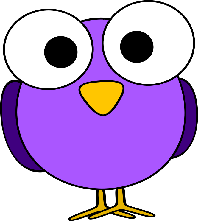 Png Icons Download Bird Purple image #6175