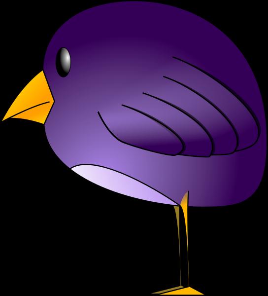 Bird Purple For Windows Icons