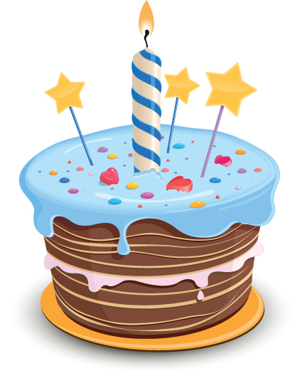 Vector Icon Birthday Cake image #16537