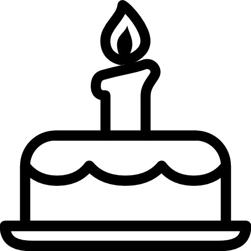 Svg Icon Birthday Cake image #16532