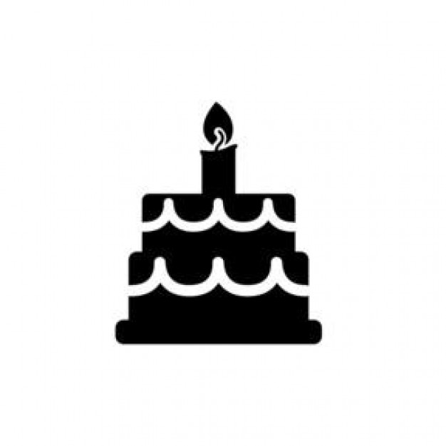 Icon Birthday Cake Library image #16545