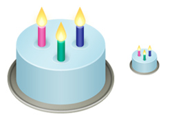 Pictures Birthday Cake Icon image #16547