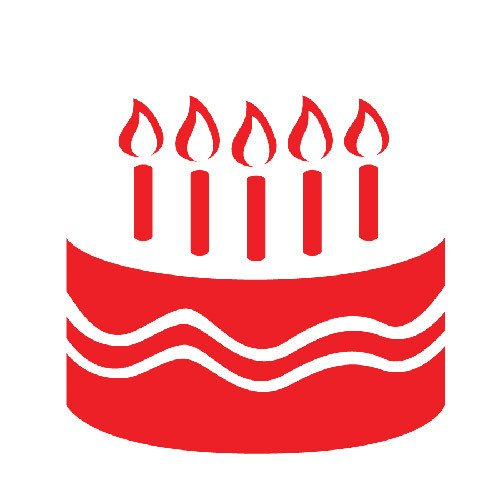 Birthday, Cake Icon image #16534