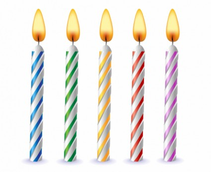 High Resolution Birthday Candles Png Icon image #31070