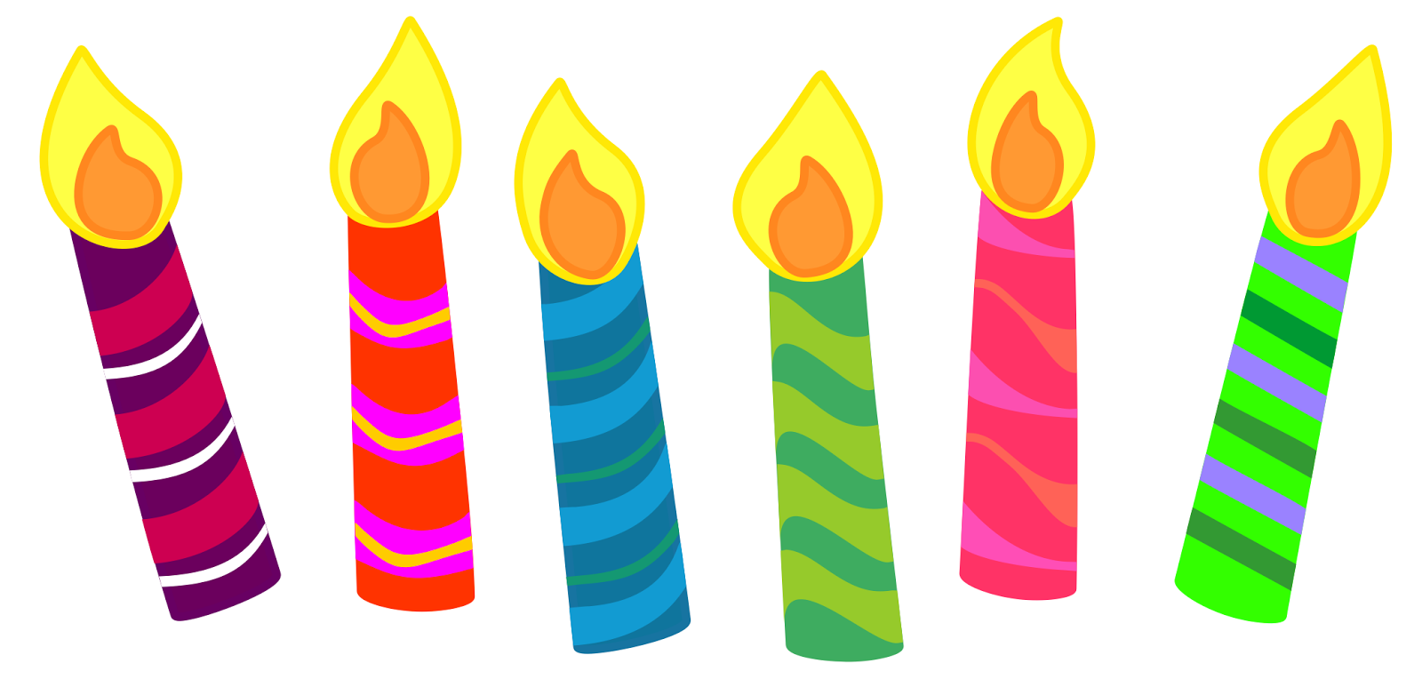 Background Png Birthday Candles Transparent image #31051