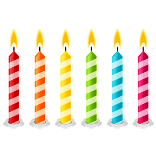 High Resolution Birthday Candles Png Icon image #31039