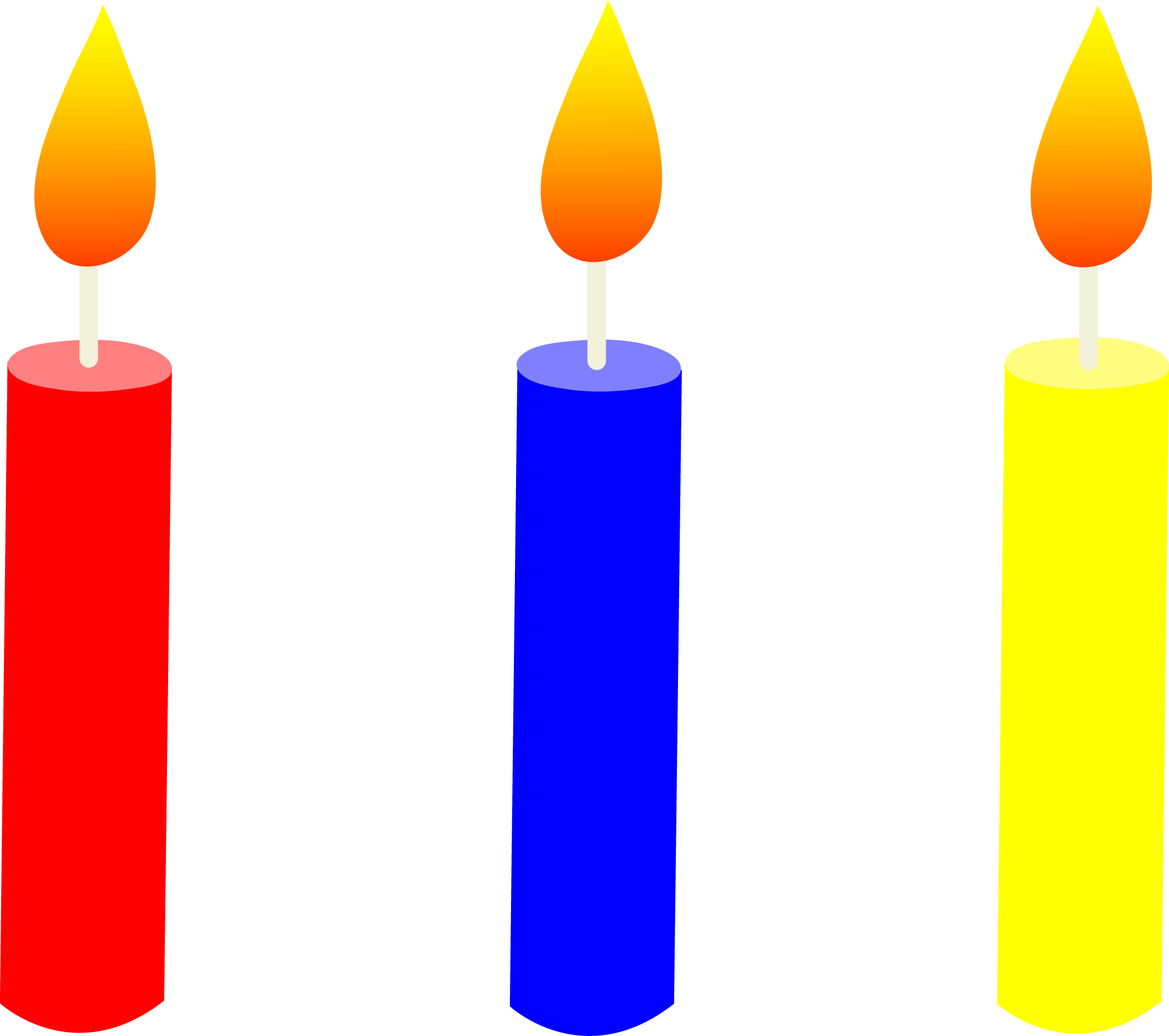 Birthday Candles Png Icon image #31031