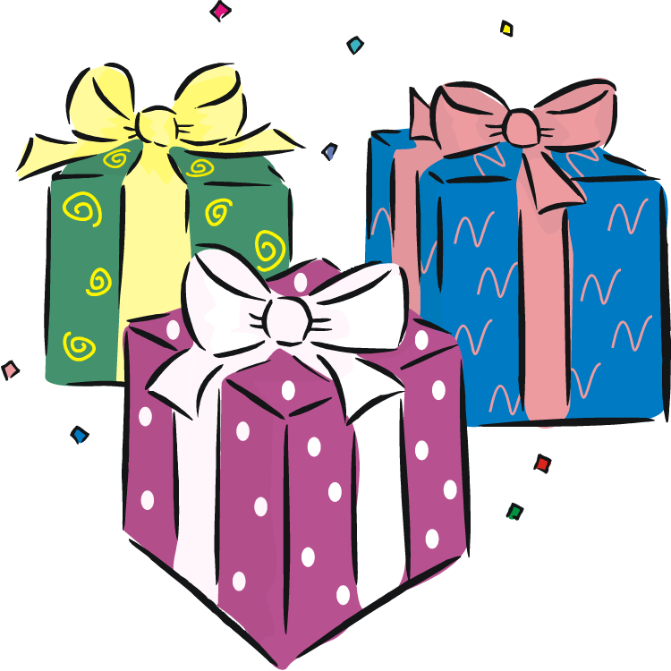 Birthday Gift Transparent PNG Pictures