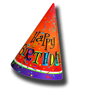 Birthday Hat PNG Transparent image #20298