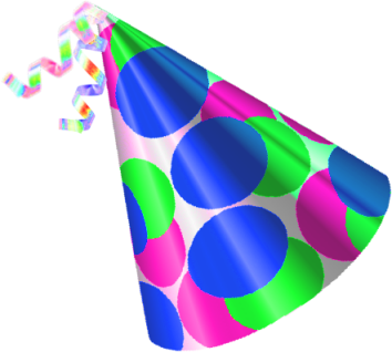 Birthday Hat Png image #20310