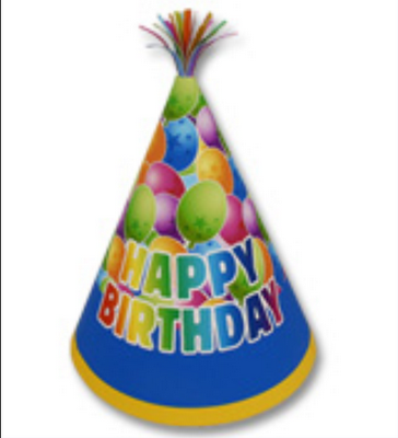 Birthday Hat Png image #20313