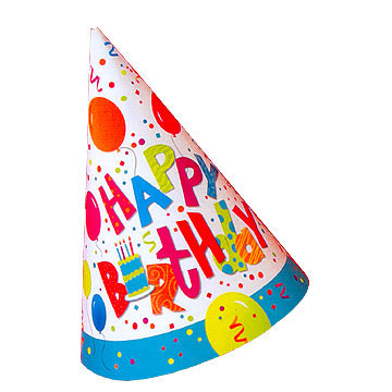 Birthday Hat Png image #20294
