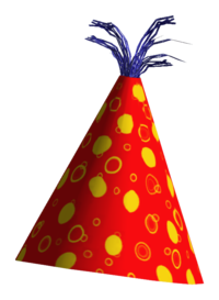 Background Birthday Hat image #20295
