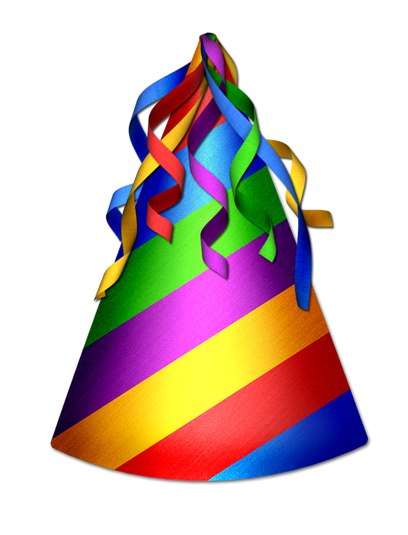 Birthday Hat PNG Transparent image #43917