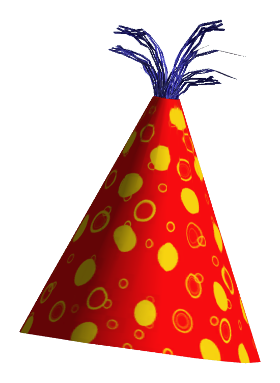 Birthday Hat PNG Transparent image #43905