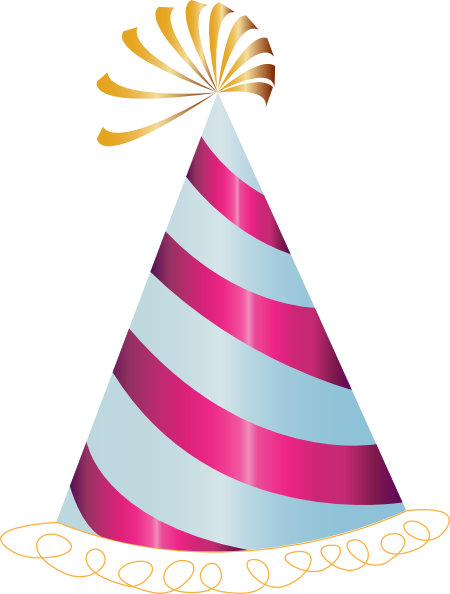 Birthday Hat PNG Transparent Picture image #43924