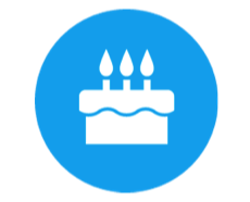 Icon Symbol Birthday