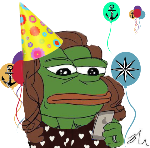 Birthday Party Pepe Png image #45908