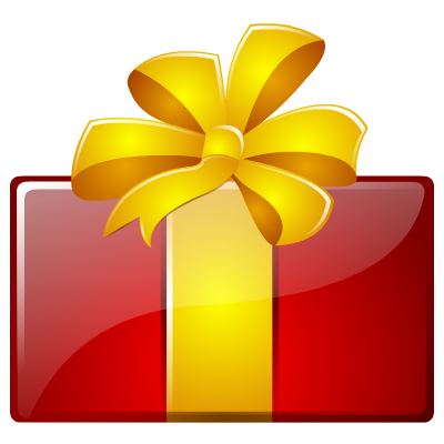 Birthday Present Png Icon image #39933