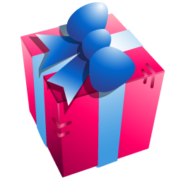 Birthday Present Png Icon image #39935