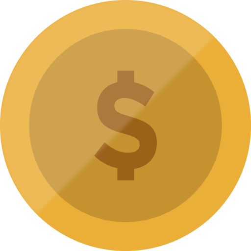 Bitcoin, cash, coin, currency, dollar, euro, finance icon