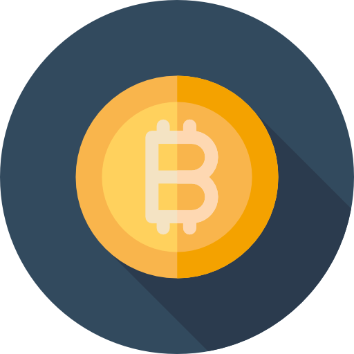 Bitcoin currency hd icon