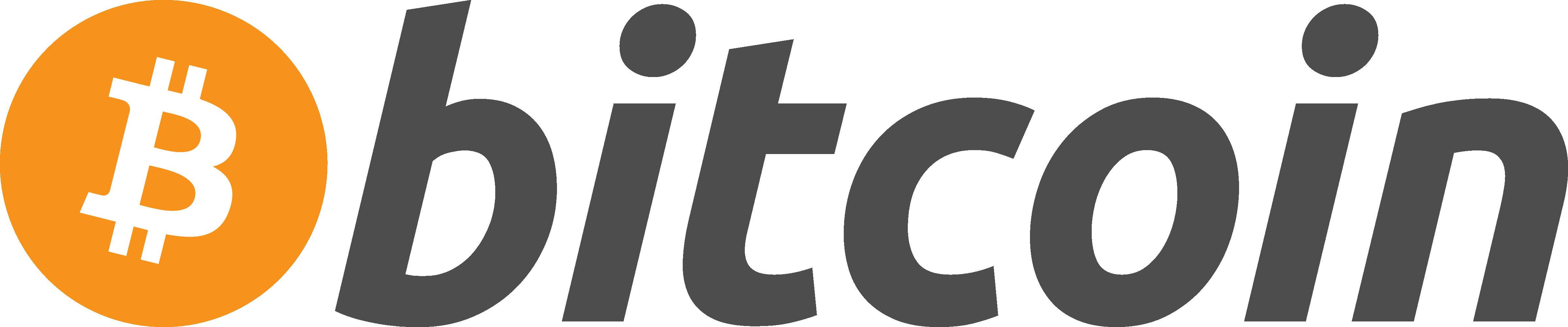 Bitcoin Logo Horizontal Dark Png
