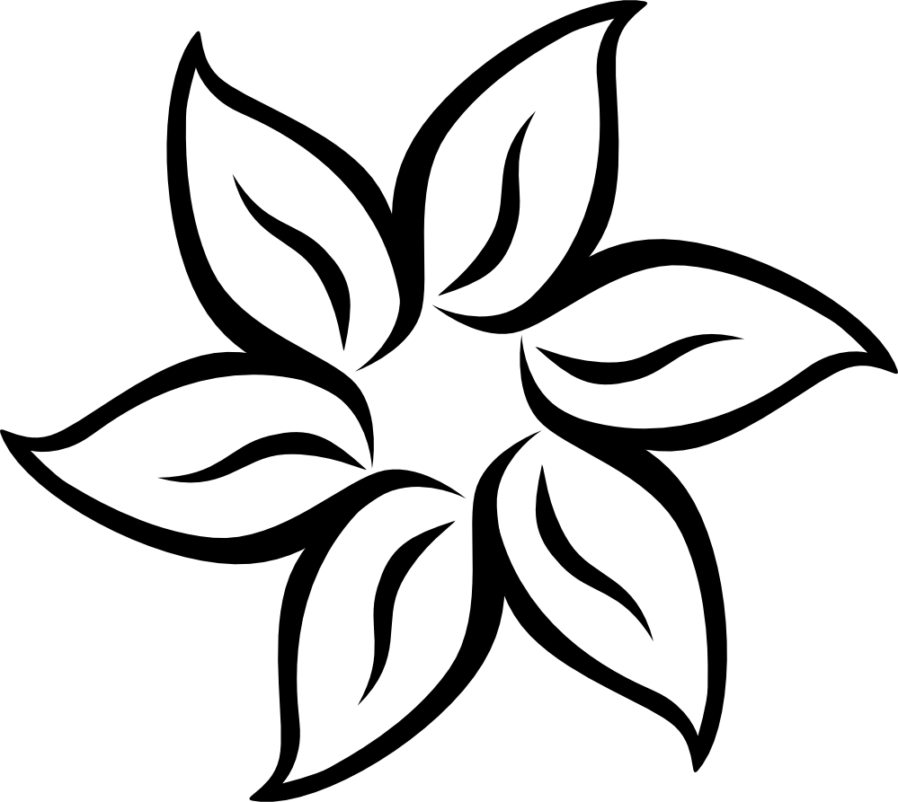 Black and white flower png #41809 - Free Icons and PNG ...
