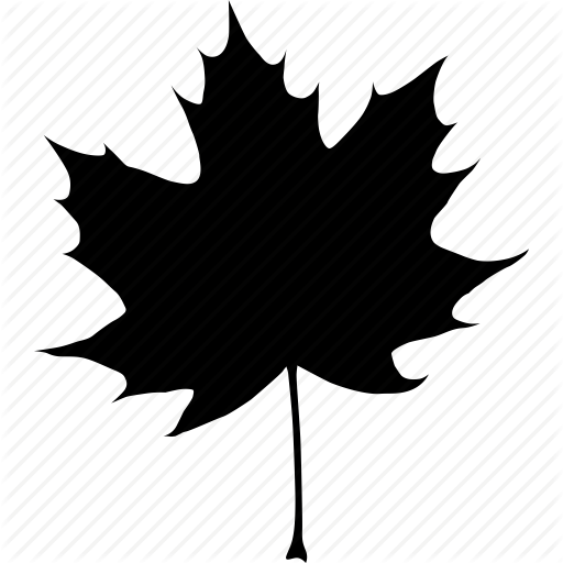 Black, Autumn, Canada, Canadian, Fall, Leaf, Maple, Tree Icon image #41725