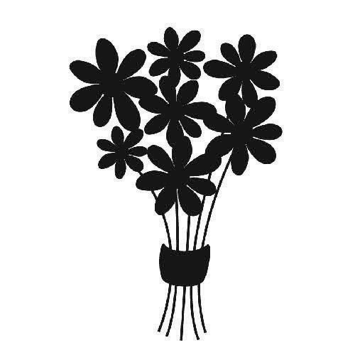 Black Bouquet Icon image #26633
