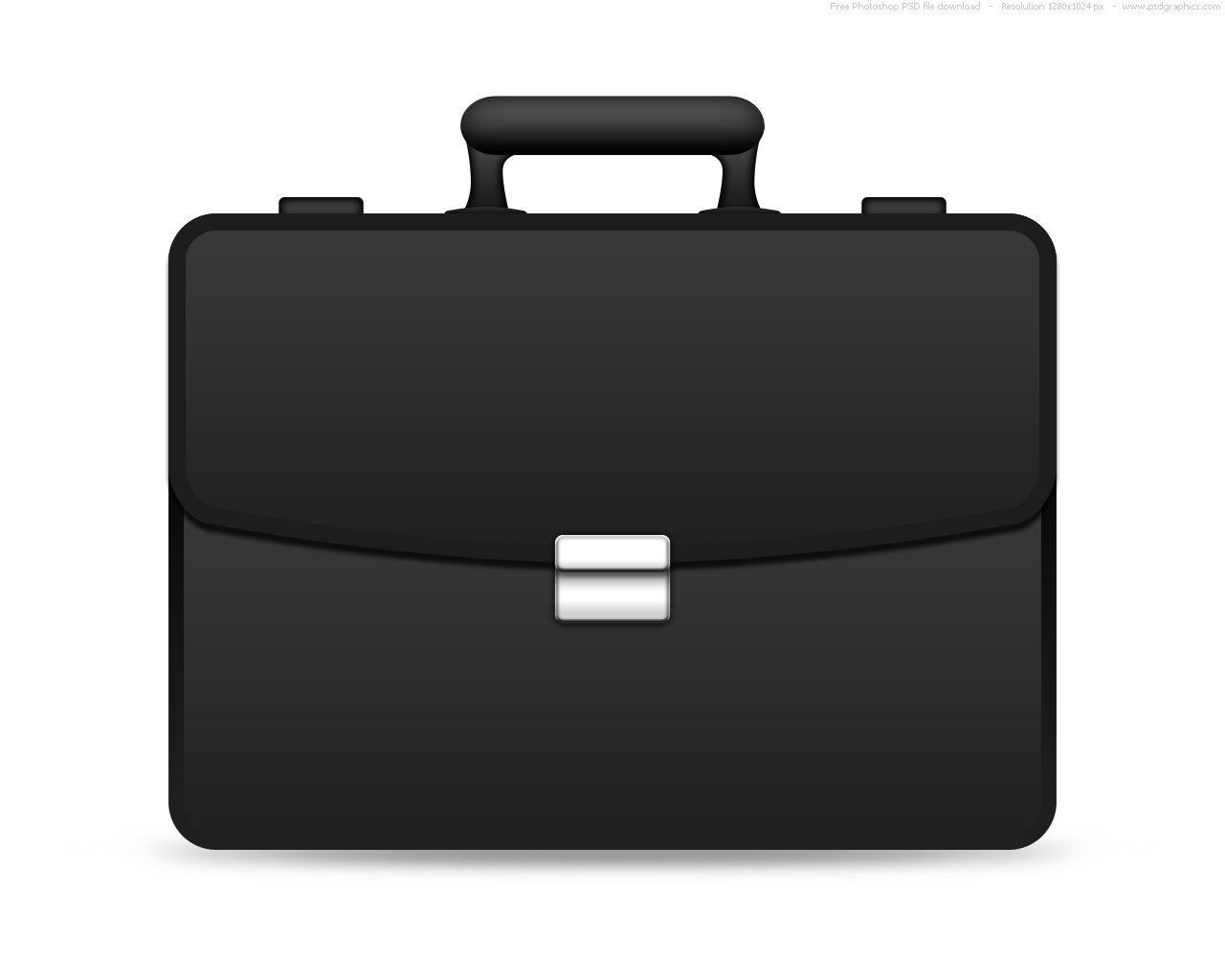 Black Briefcase Icon image #11210