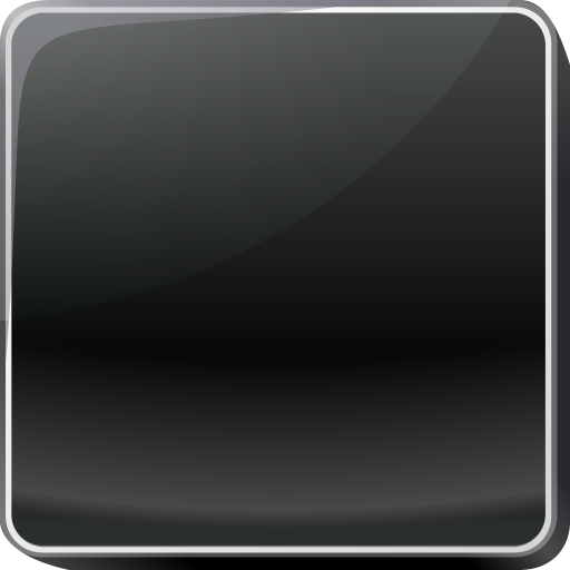 Black Button Icon Png image #21068