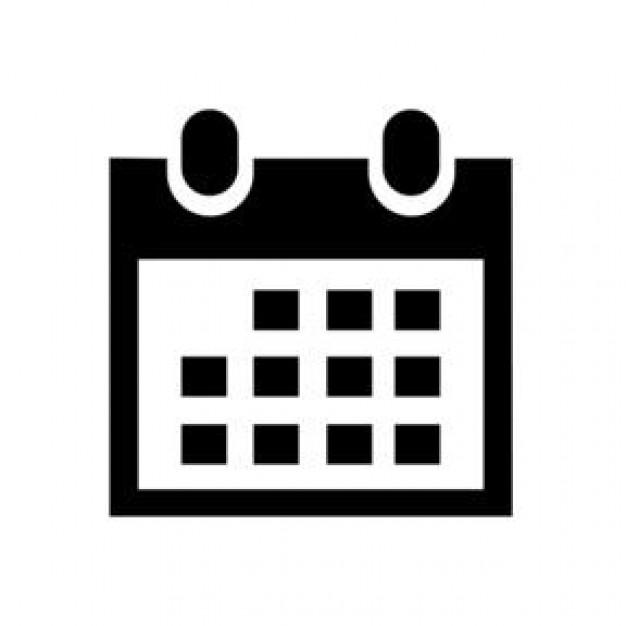 Black Calendar Icon #11201 - Free Icons and PNG Backgrounds