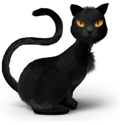 Icon Black Cat Png Transparent Background Free Download Freeiconspng