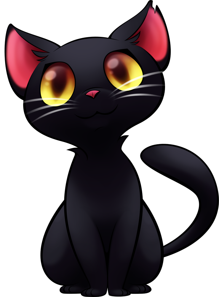 Free Download Of Black Cat Icon Clipart image #30371