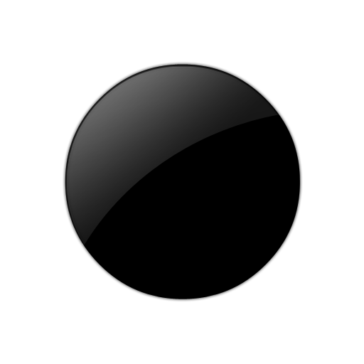 Black Circle Icon image #16073