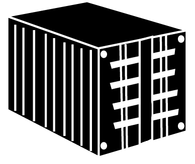 Black Container Icon image #31777